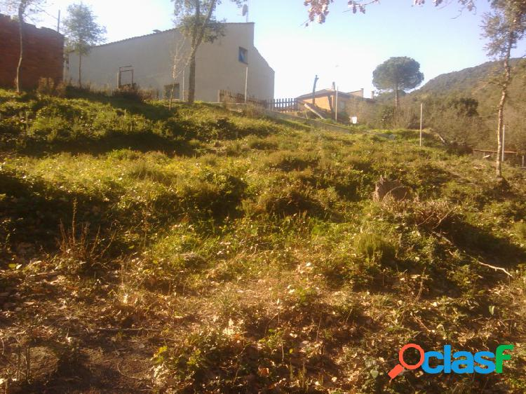 Urge vender: Terreno edificable de 1000 m2 en la