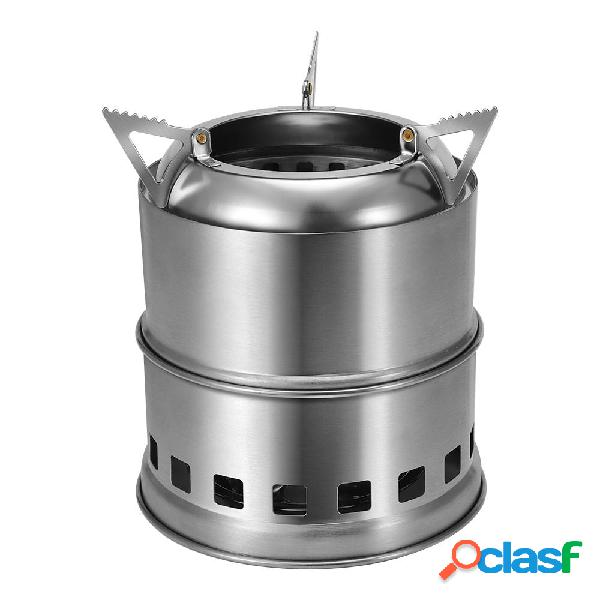 Xmund XD-ST5 al aire libre Mini estufa de cocina de acero