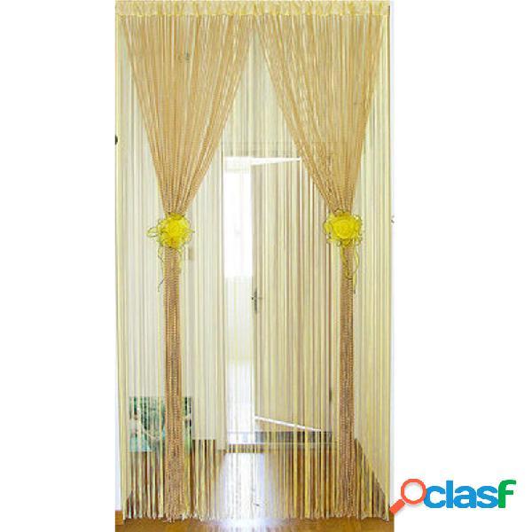 1.0x2.0m Glitter String Bead Puerta Paneles de cortina