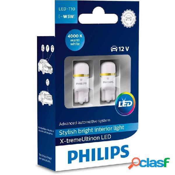127994000KX2 - Blíster 2 lámparas Philips T10 LED 12799