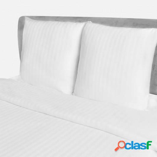 5 Juegos de sábanas de algodón modelo de rayas 200x200 /