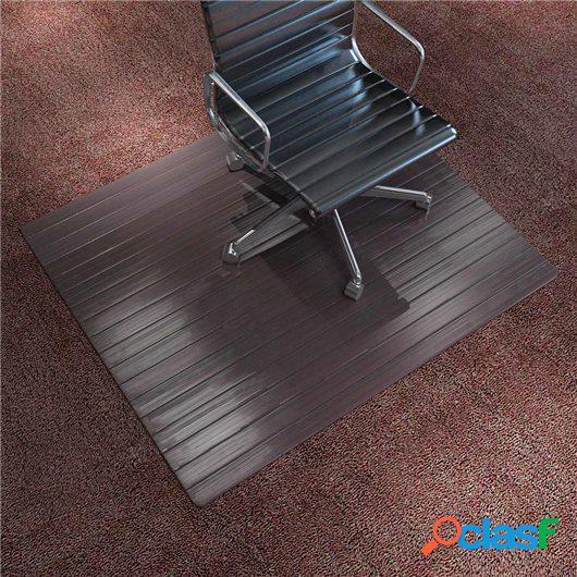 Alfombra para silla/Alfombra de protección bambú marrón