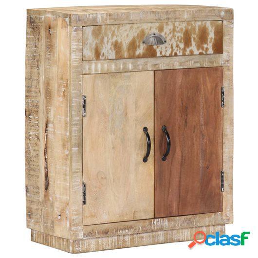 Aparador 60x30x75 cm madera maciza de mango