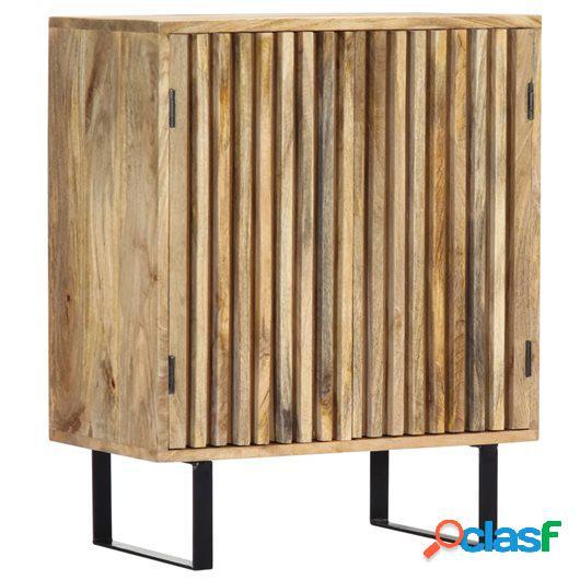 Aparador 60x35x75 cm madera maciza de mango