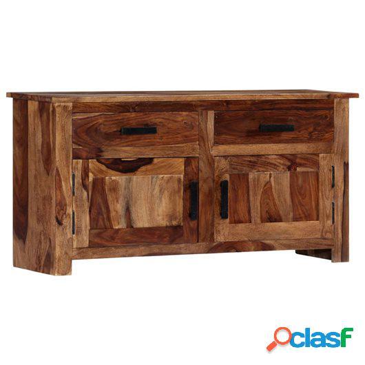 Aparador de madera maciza de sheesham 100x30x50 cm