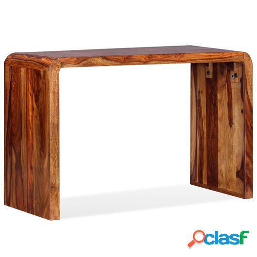 Aparador/Escritorio de madera maciza de sheesham marrón