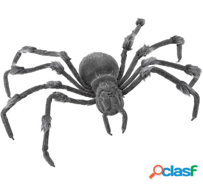 Araña Gris con Movimiento, Luz y Sonido 105x33 cm