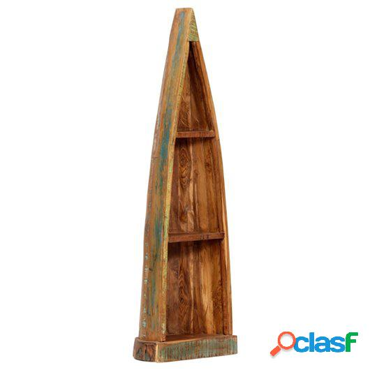 Armario con forma de barco madera reciclada mango 40x30x130
