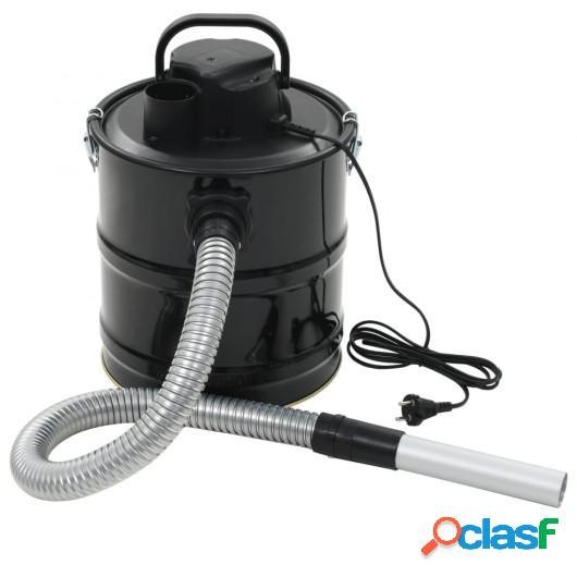 Aspiradora de cenizas con filtro HEPA 1000 W 20 L negra