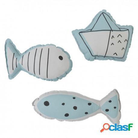 Baby Clic - Set De 3 Cojines Decorativos Boats Baby Clic