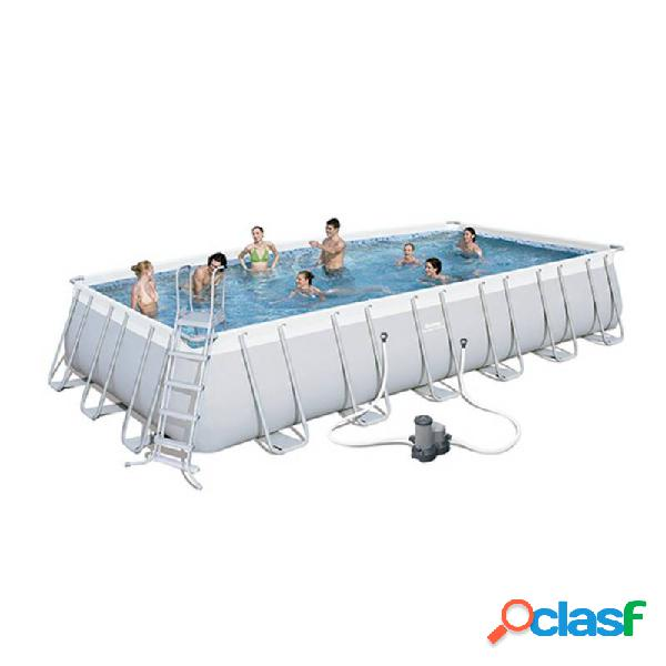 Bestway - Piscina desmontable rectangular 732x366x132 cm
