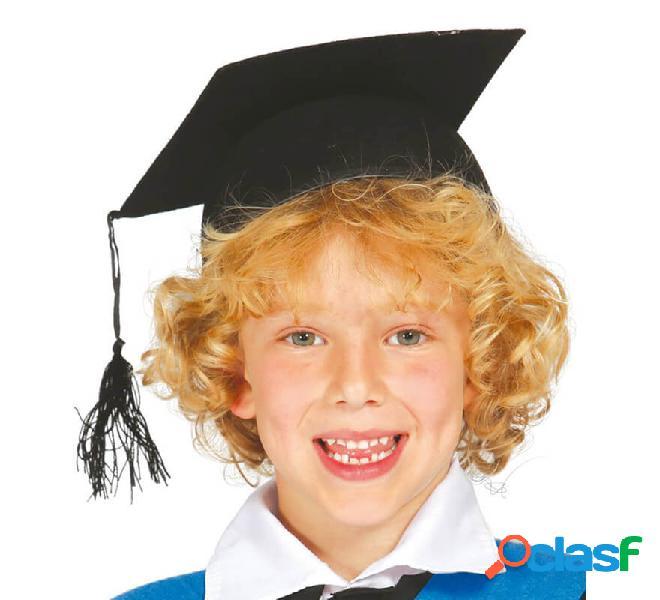 Birrete de Estudiante o Graduado infantil de fieltro