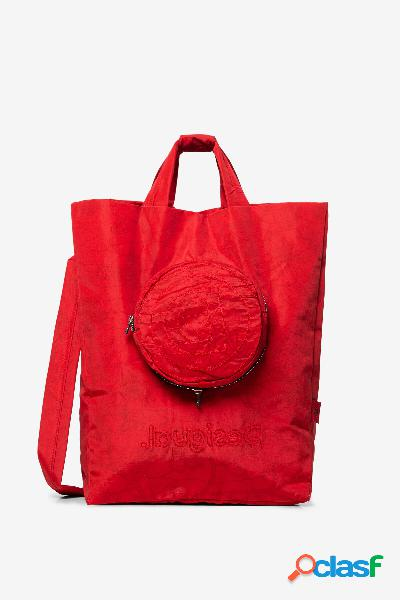 Bolsa floral 2 en 1 - RED - U