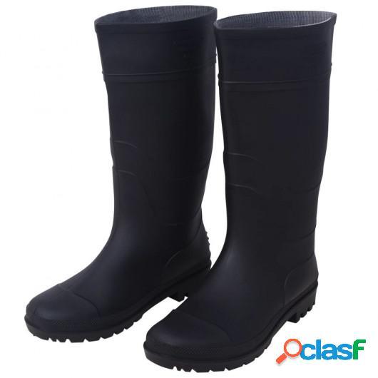 Botas de goma talla 42 negro