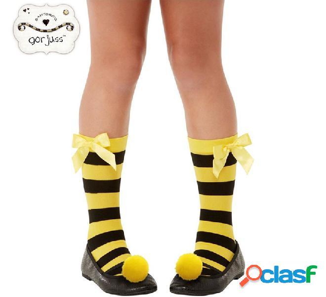 Calcetines Rayas Negras y Amarillas Bee Loved Gorjuss