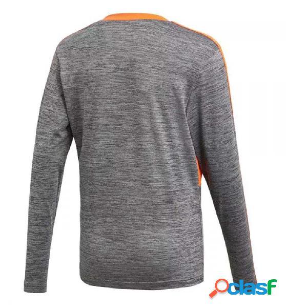 Camiseta Casual Adidas Yb P Ls Jersey 164 Gris
