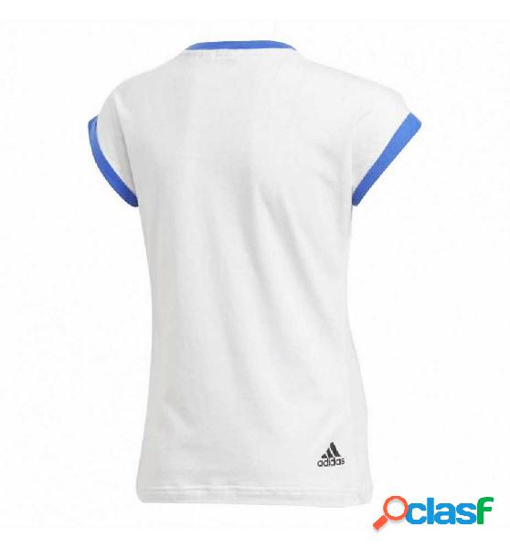 Camiseta Casual Niña Adidas Yg Sport Id Tee Manga Corta 140