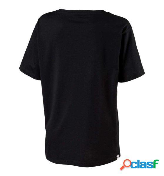 Camiseta Casual Puma Evo Graphic Tee 140 Negro