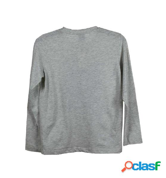 Camiseta Casual Rip Curl Ico Search Ls Tee 10 Gris