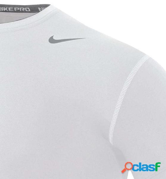 Camiseta Compresión Hombre Nike Compress Blanco Xl