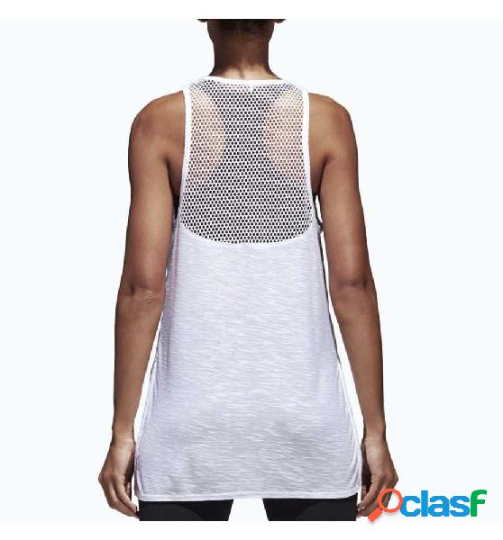 Camiseta De Tirantes Casual Adidas W Id Loose Tank Blanco M