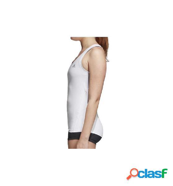 Camiseta De Tirantes Fitness Adidas A Sk Spr Top Tk Blanco M