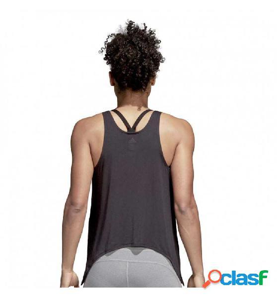 Camiseta De Tirantes Fitness Adidas Knot Tank L Negro
