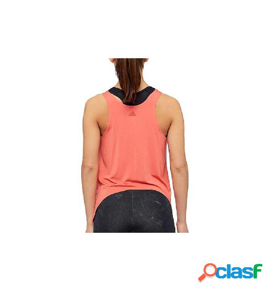 Camiseta De Tirantes Fitness Adidas Knot Tank Rosa S