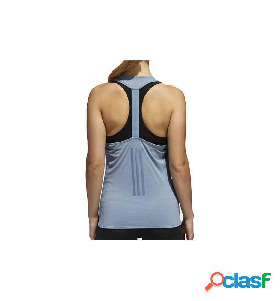 Camiseta De Tirantes Fitness Adidas Supernova Tank Azul S