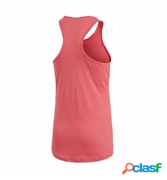 Camiseta De Tirantes Fitness Adidas Yg Logo Tank 164 Rojo
