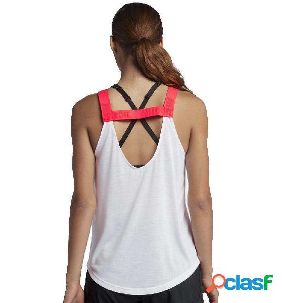 Camiseta De Tirantes Fitness Nike Breathe Blanco L