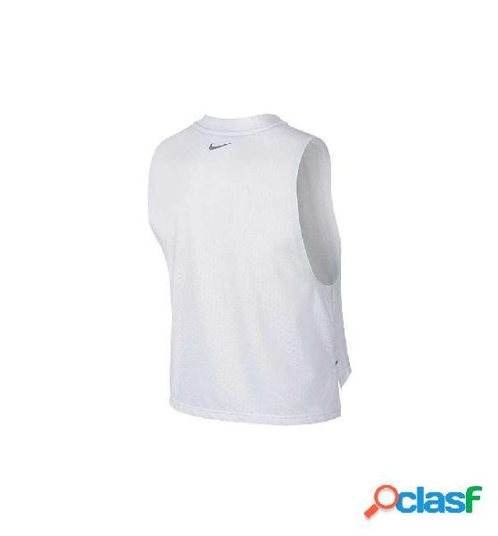 Camiseta De Tirantes Para Running Nike Tailwind Blanco Xs