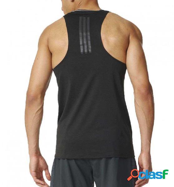 Camiseta De Tirantes Running Adidas Sn Sngt M M Negro