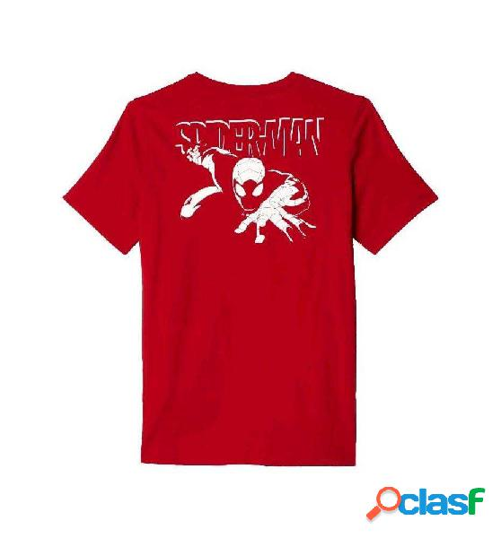 Camiseta Fitness Adidas A Spider-man 152 Rojo