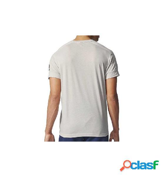 Camiseta Fitness Adidas Id Stadium Tee Blanco M