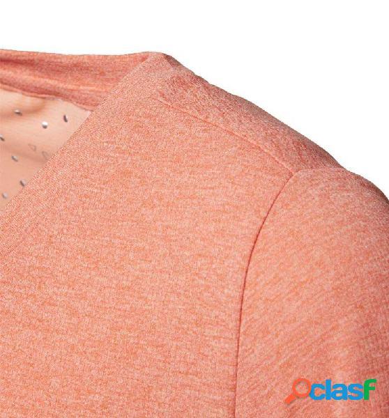 Camiseta Fitness Adidas Yg Chill Tee 164 Naranja