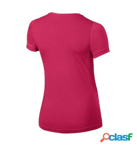 Camiseta Fitness Nike Girls´ Nike Pro Cool Top Rosa Xl