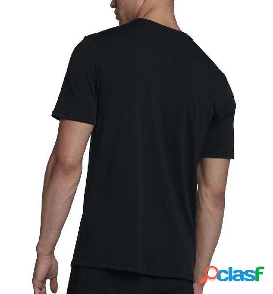 Camiseta Fitness Nike Men´s Nike Dry T-shirt Negro S