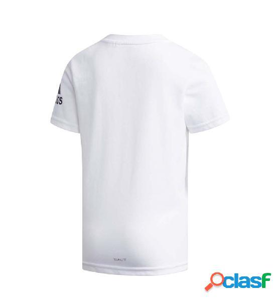 Camiseta M/c Casual Adidas Lb Ss G Tee 110 Blanco