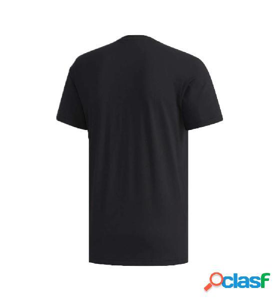 Camiseta M/c Casual Adidas M Camo Box T M Negro