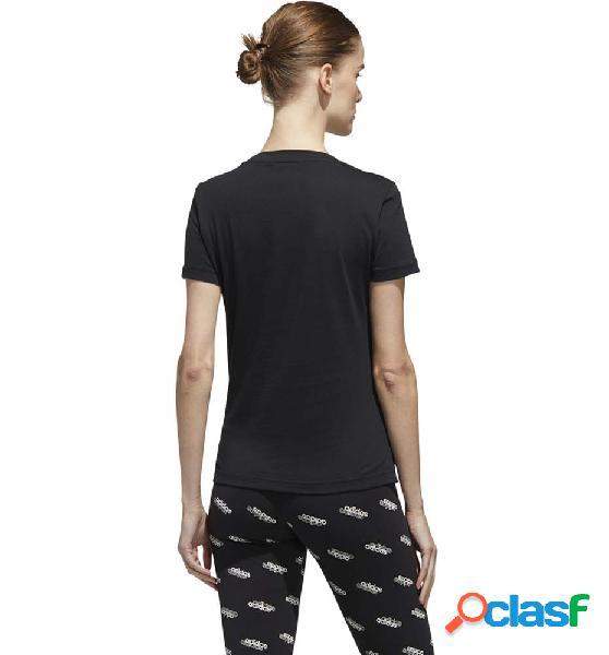 Camiseta M/c Casual Adidas W Boxed Camo T M Negro