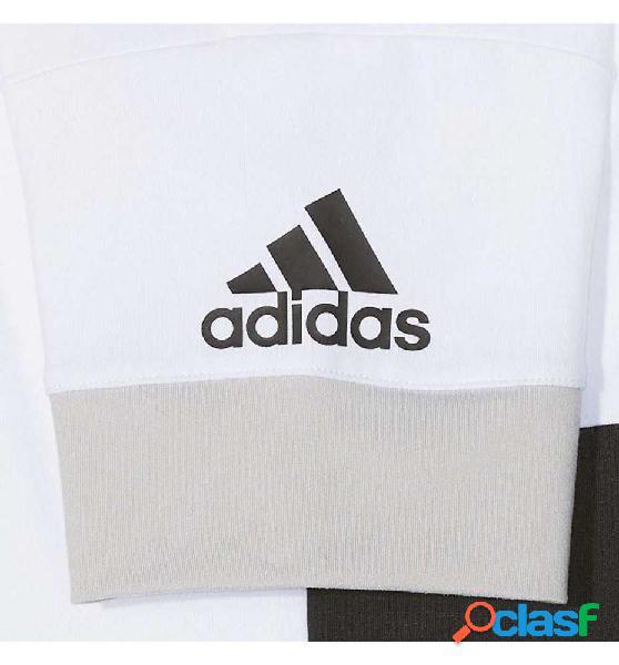 Camiseta M/c Casual Adidas Yg Wow Tee 152 Blanco