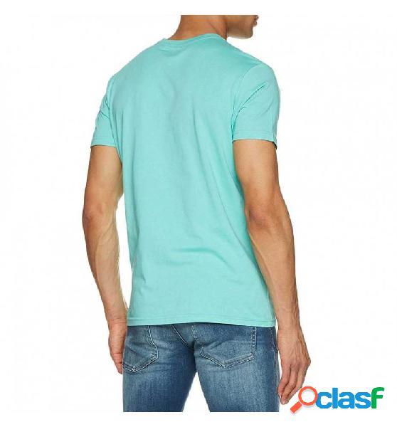 Camiseta M/c Casual Billabong Six Tee Ss Azul L
