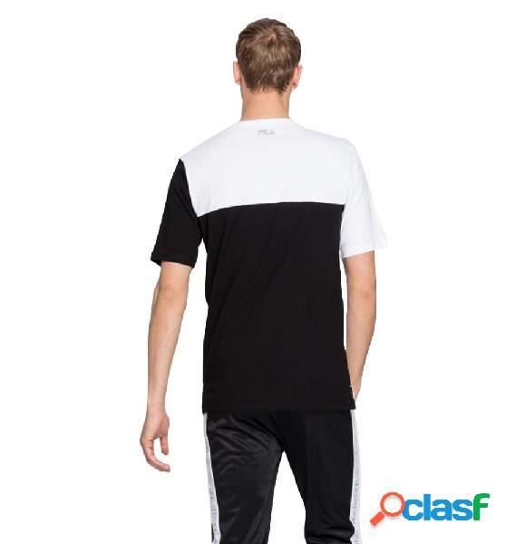 Camiseta M/c Casual Fila Men Lazar Tee Blanco M