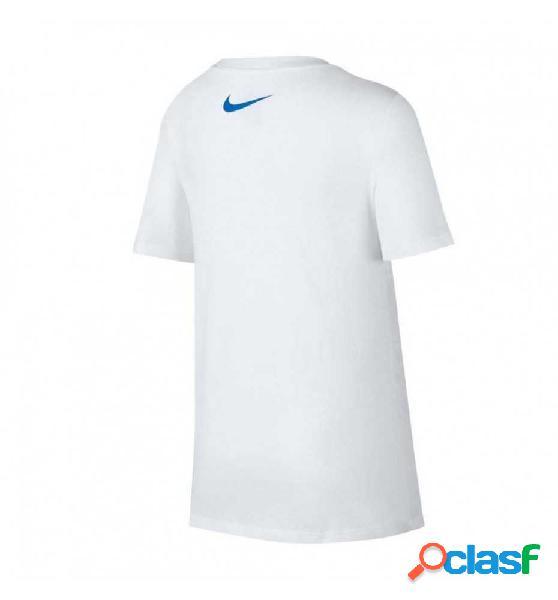 Camiseta M/c Casual Nike B Nike Sportwear Blanco S