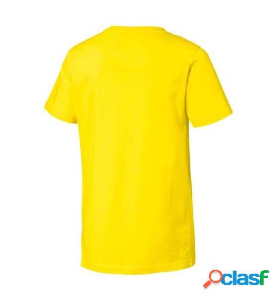 Camiseta M/c Casual Puma Active Sport Tee 140 Amarillo