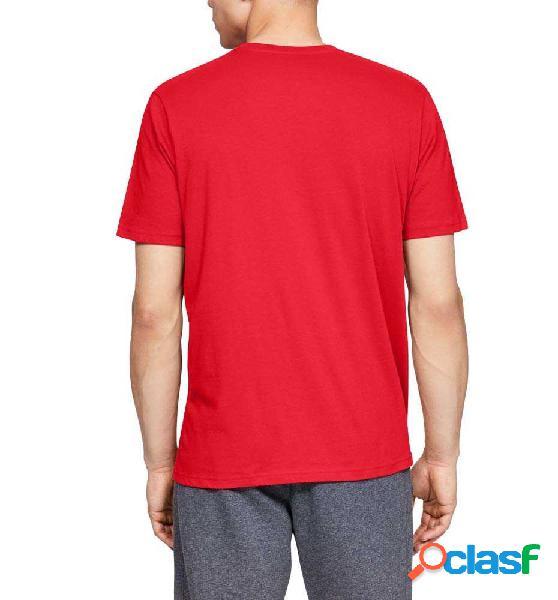 Camiseta M/c Casual Under Armour Gl Foundation Ss M Rojo