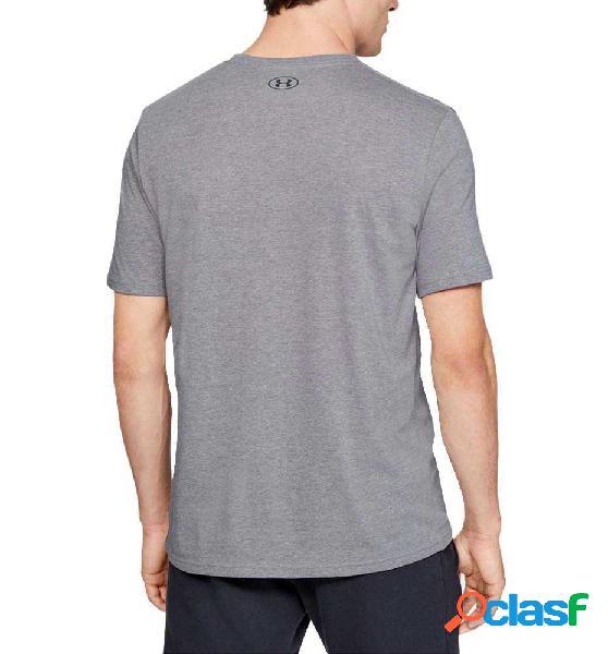 Camiseta M/c Casual Under Armour Perf Origin Center Ss Gris