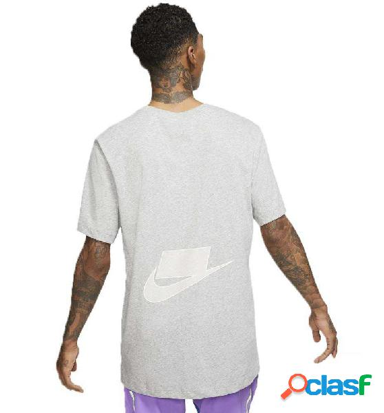 Camiseta M/c Fitness Nike Dri-fit Blanco M-t