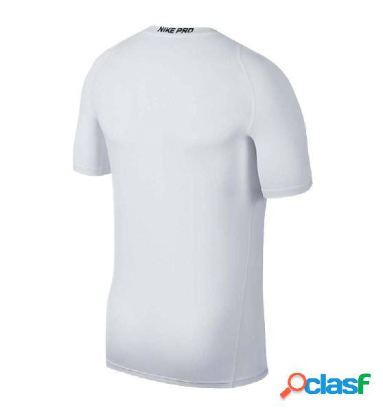Camiseta M/c Fitness Nike Ss Top Pro Blanco M